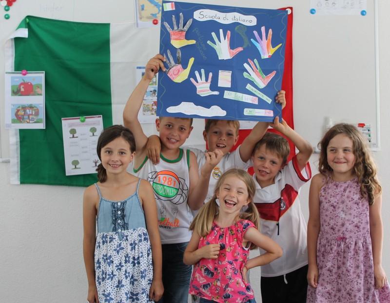 Ital. Kindergruppe 2016 klein